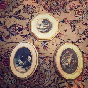Vintage Florentine Wall Hangings
